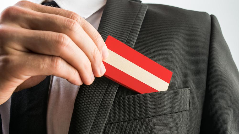 Crveno bijelo crvena karta