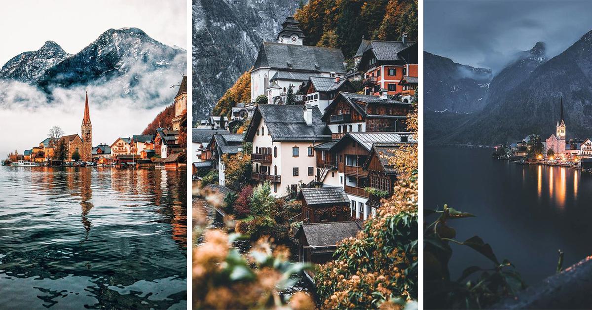 Hallstatt Austrija