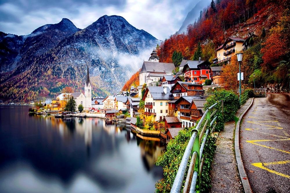 austrija hallstatt jesen