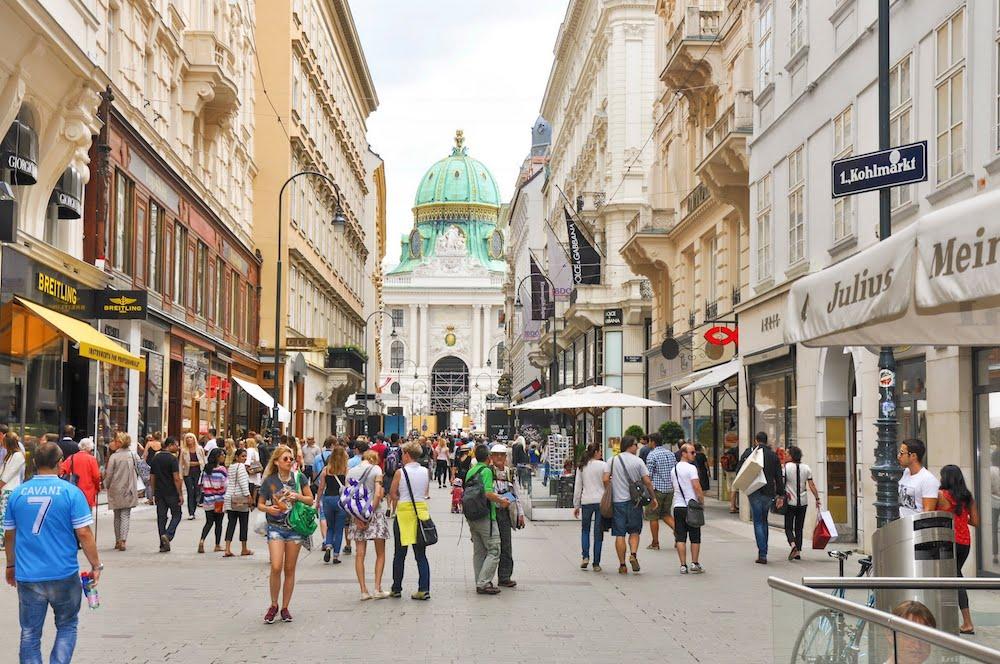 ulice beca austrija