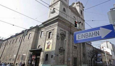 Die Kirche Hl. Sava in Wien ist bis zum 1. August 2020 geschlossen ...